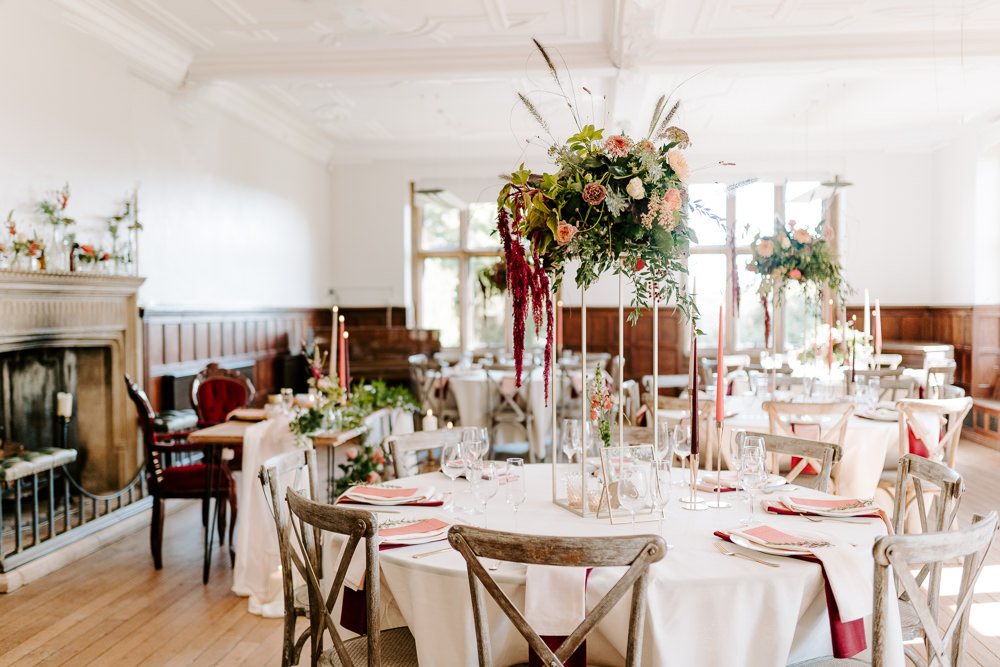 Round Tables Contemporary Wedding Ideas Chloe Ely Photography