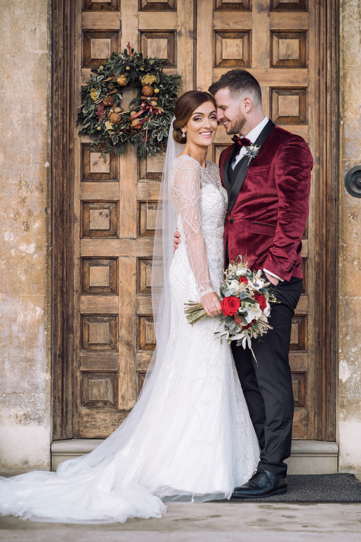 Decadent Christmas Wedding Jessica Raphael Photography