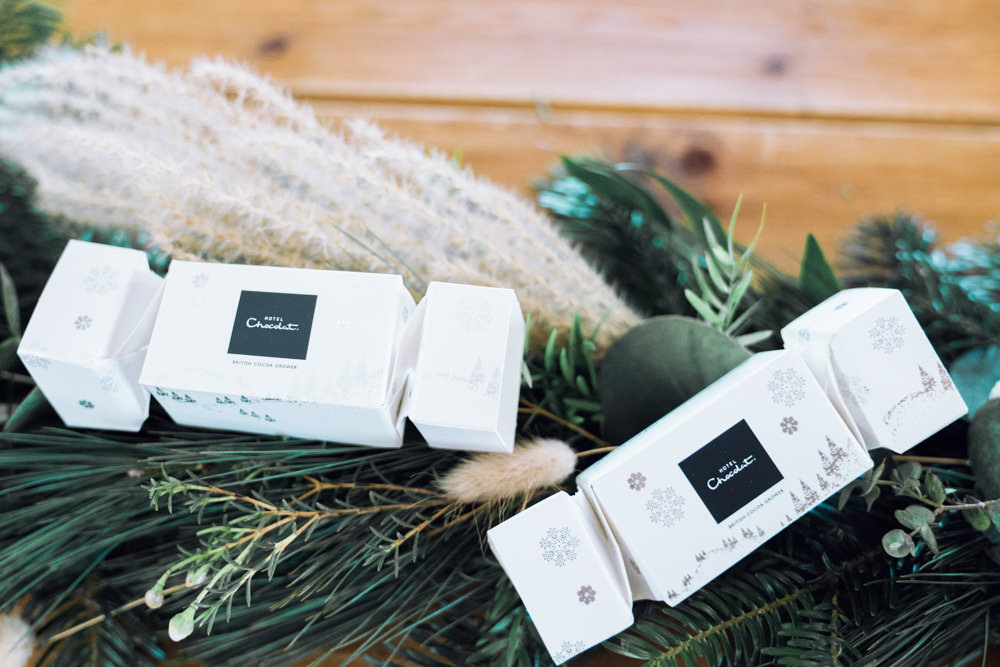 Crackers Favours Decadent Christmas Wedding Jessica Raphael Photography
