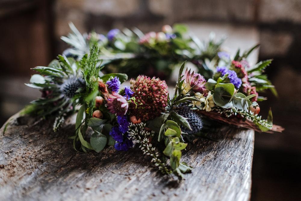 Flower Floral Wreath Ethical Wedding Ideas Jenna Kathleen Photographer