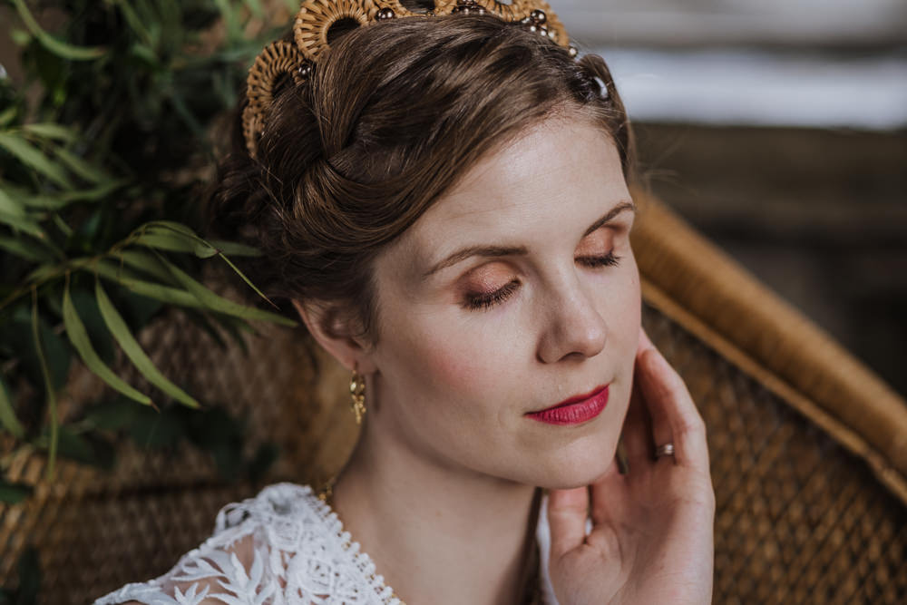 Bride Bridal Make Up Ethical Wedding Ideas Jenna Kathleen Photographer