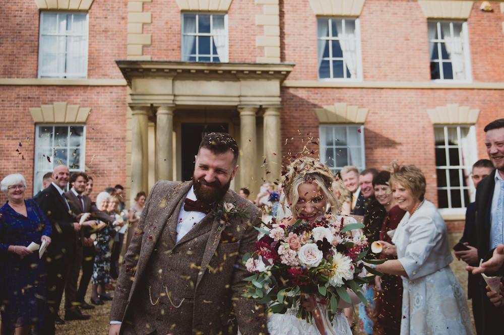 Confetti Garthmyl Hall Wedding Sasha Weddings