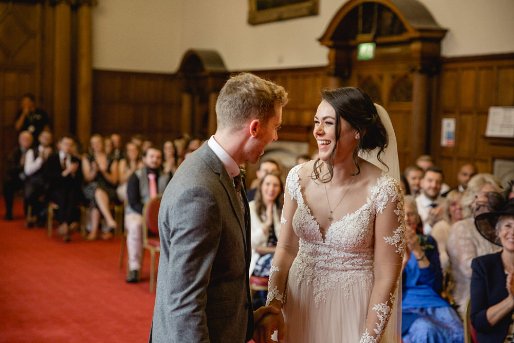 Sheffield Town Hall Wedding Mark Newton Wedding Photography