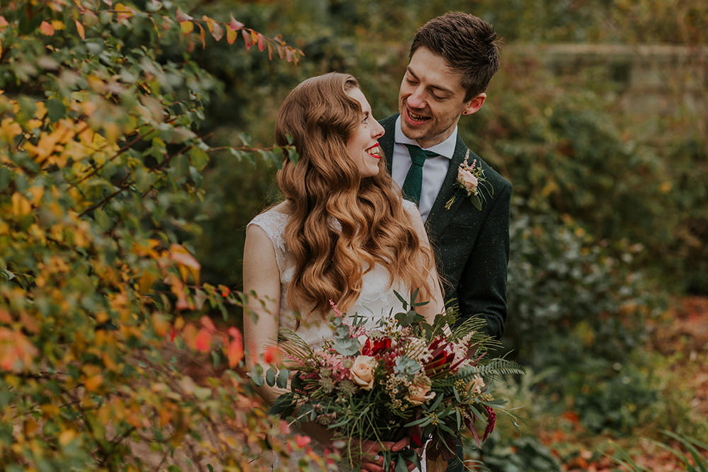Simple Autumn Wedding Maddie Farris Photography