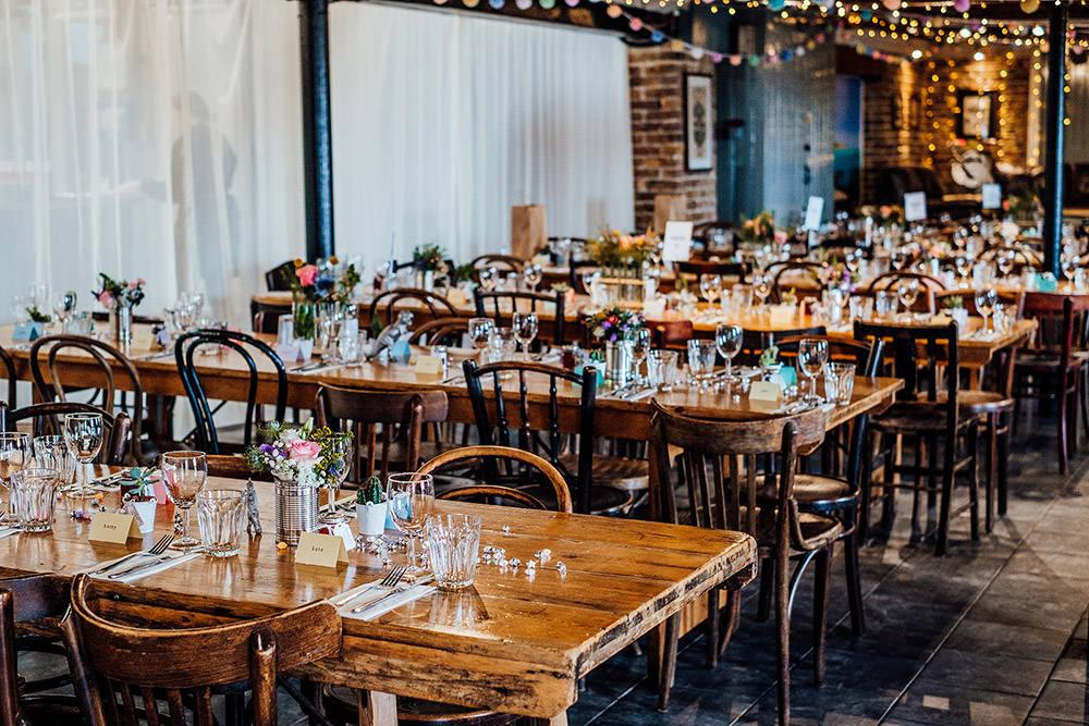 East Quay Venue Sparkly Wedding Anna Pumer Photography