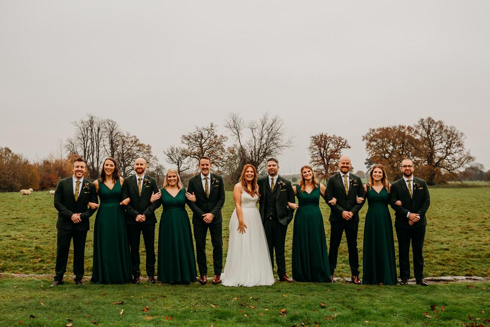 Green Bridesmaids Dress Dresses Bridesmaid St. Tewdrics House Wedding When Charlie Met Hannah