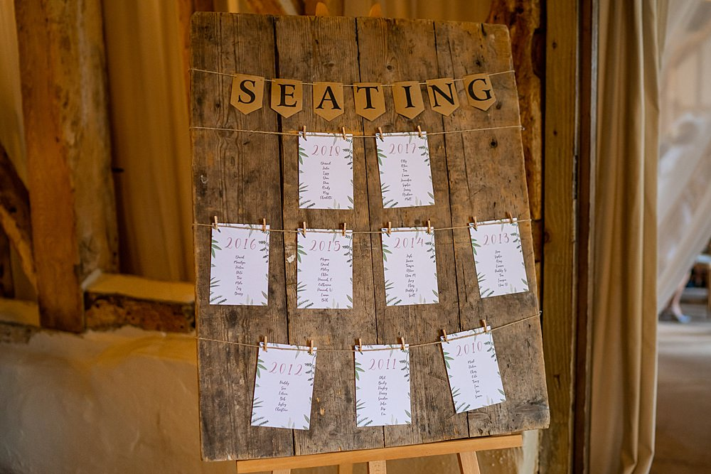 Wooden Table Plan Seating Chart Stylish Rustic Wedding Mia Photography