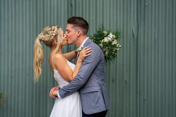 Stylish Rustic Wedding Mia Photography