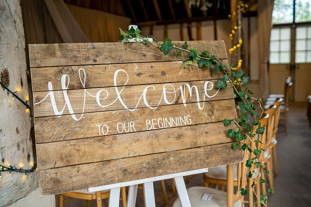 Welcome Sign Signs Signage Wooden Stylish Rustic Wedding Mia Photography