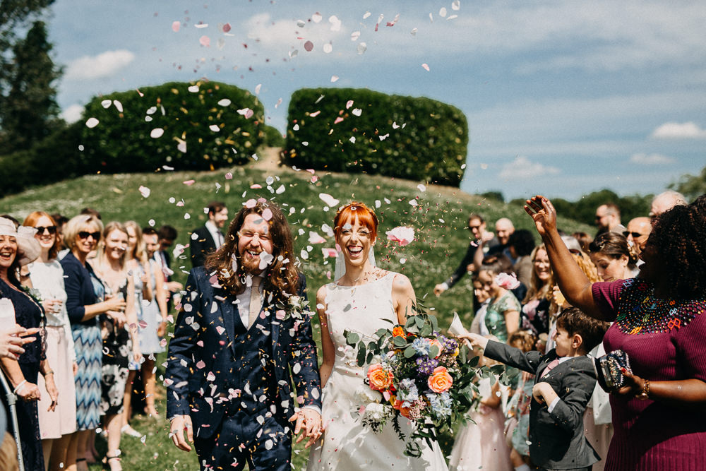 Confetti Throw Tree Cathedral Wedding Milton Keynes Miracle Moments
