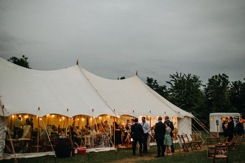 Pole Tent Marquee Tree Cathedral Wedding Milton Keynes Miracle Moments