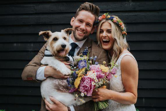 Dog Pet Animal Lovers Wedding Bloom Weddings