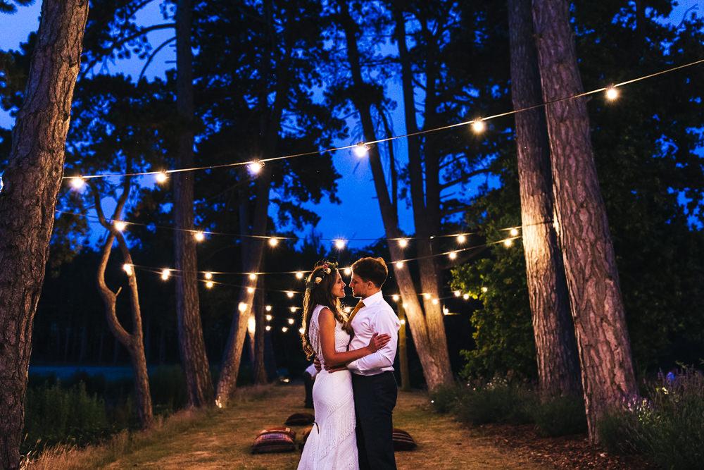 Festoon Lights Brook Farm Wedding Kirsty Mackenzie Photography