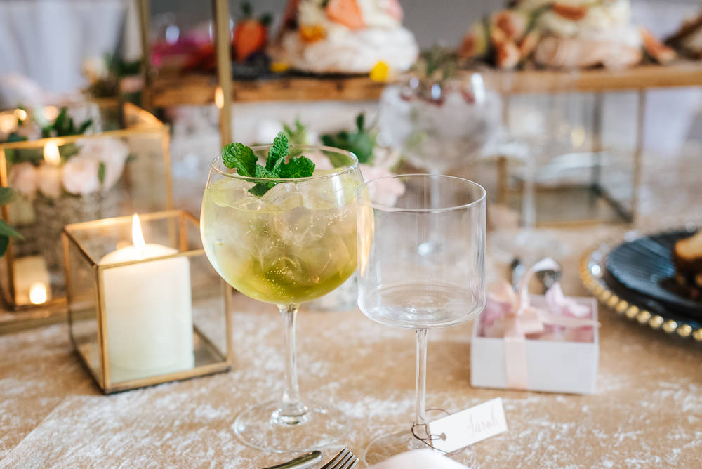 Cocktail Cherry Blossom Wedding Ideas Sugarbird Photography