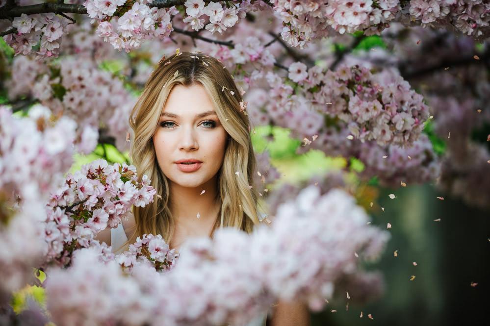 Cherry Blossom Wedding Ideas Sugarbird Photography Bride Bridal Hair Make Up