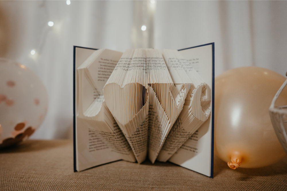 Book Art Love Literary Wedding Naomi Jane Photography