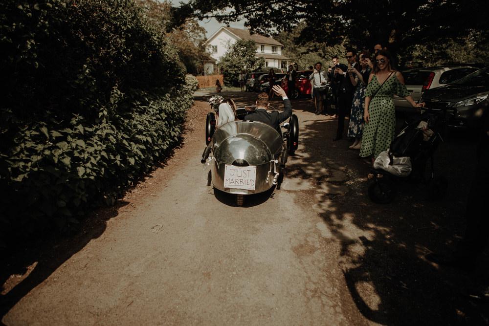 Classic Car Transport Magical Tipi Wedding Esme Whiteside Photography