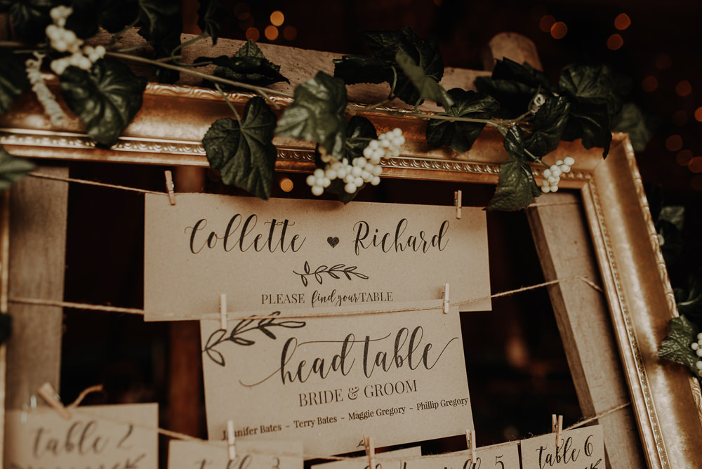 Table Plan Seating Chart Frame Flowers Magical Tipi Wedding Esme Whiteside Photography