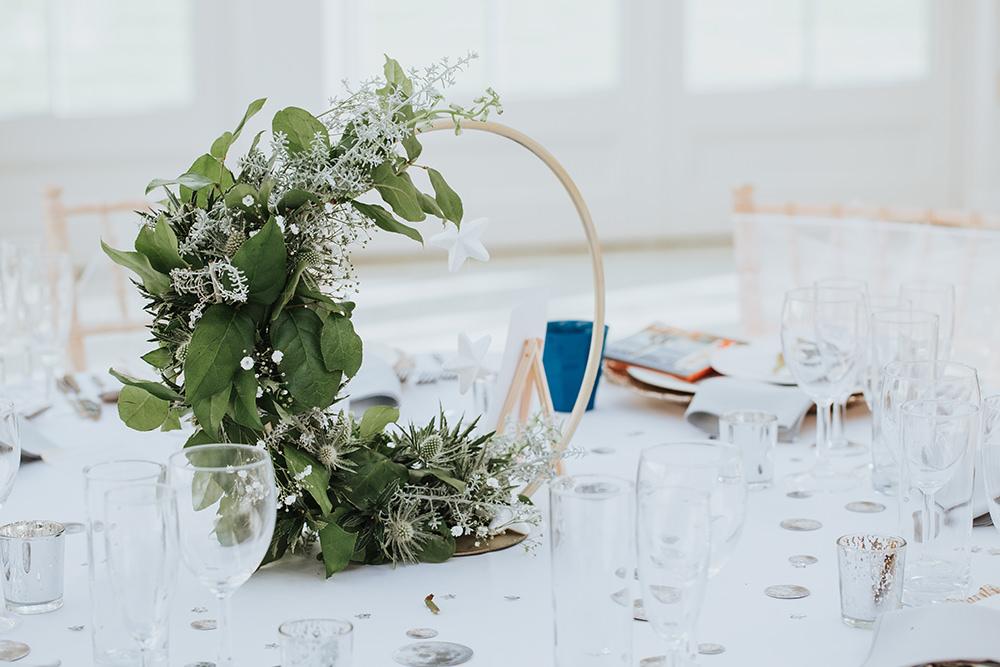 Moon Gate Flowers Centrepice Decor Table Flowers Moon Stars Wedding Ideas Olegs Samsonovs Photography