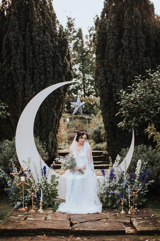 Moon Stars Wedding Ideas Olegs Samsonovs Photography Backdrop Moonbooth Photo Booth Decor Decoration Flowers Candles