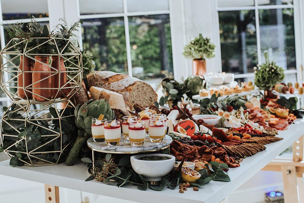 Grazing Table Sharing Platter Food Buffet Moon Stars Wedding Ideas Olegs Samsonovs Photography