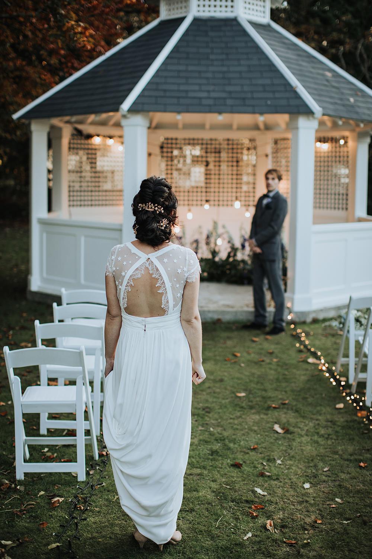 Dress Gown Bride Bridal Celestial Moon Stars Wedding Ideas Olegs Samsonovs Photography