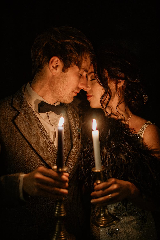 Candles Moon Stars Wedding Ideas Olegs Samsonovs Photography