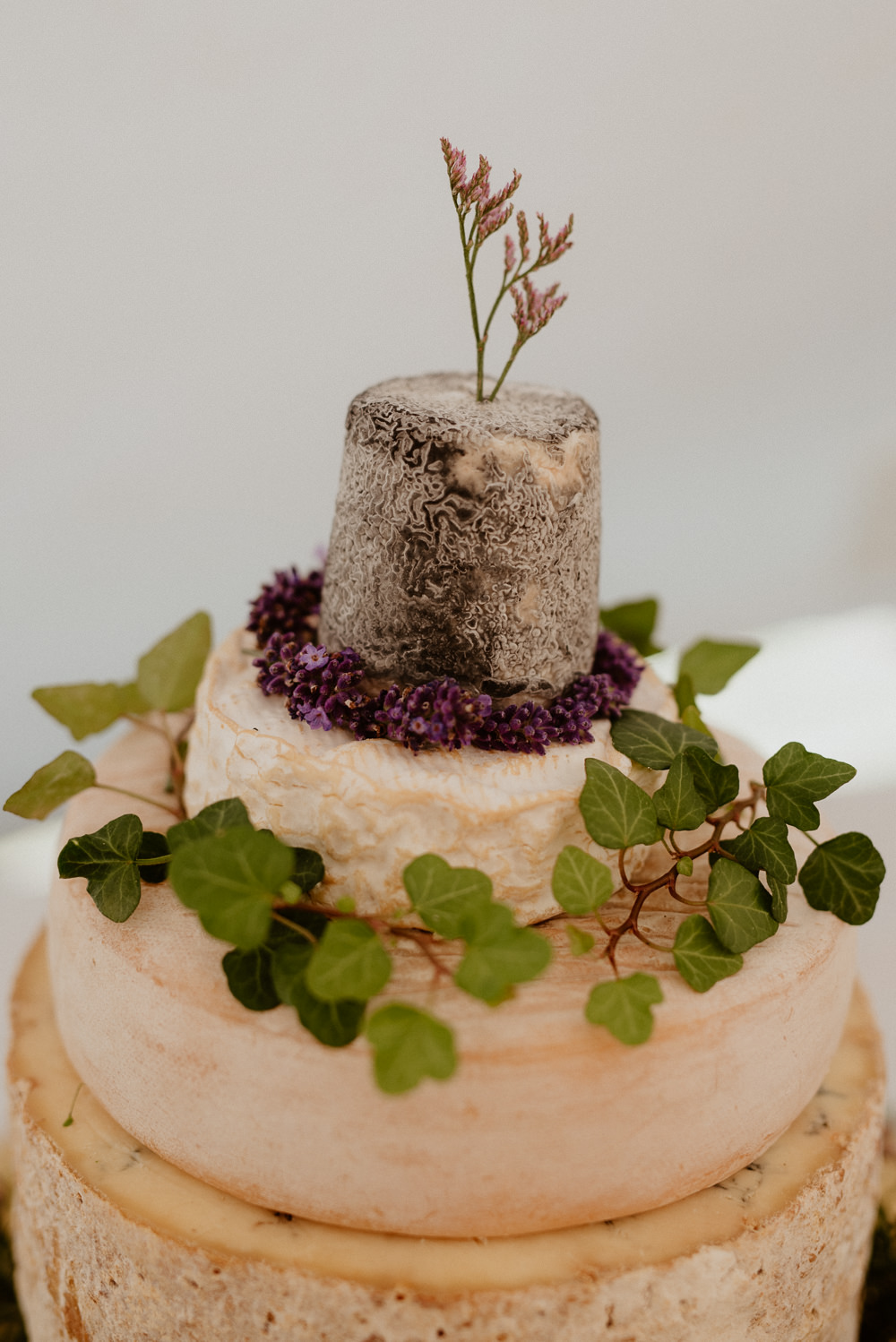 Cheese Tower Cake Stack North Cornwall Wedding Taylor-Hughes Photography