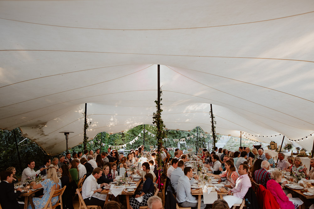 Stretch Tent Marquee North Cornwall Wedding Taylor-Hughes Photography