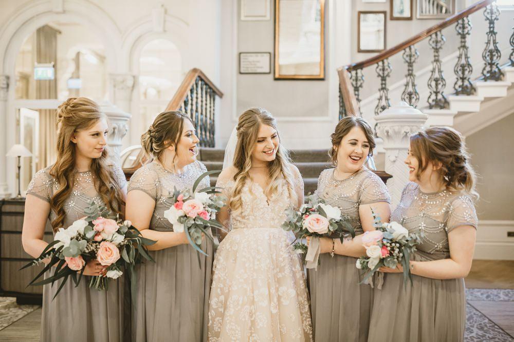 Bridesmaids Bridesmaid Dress Dresses Grey York Minster Wedding Amy Lou Photography