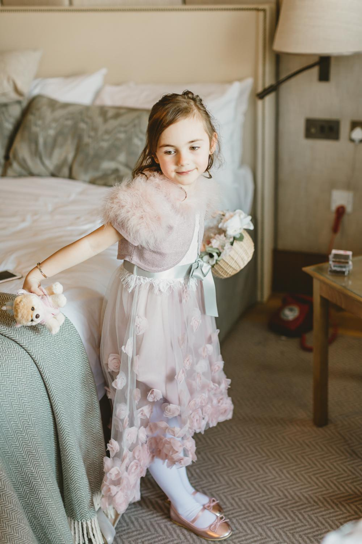 Flower Girl Dress York Minster Wedding Amy Lou Photography