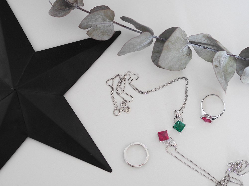 Bridesmaid Jewellery Gift Present UK Necklace Ring Earrings Accessory