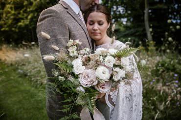 Bohemian Beautiful Rustic Barn Wedding with Serious Style