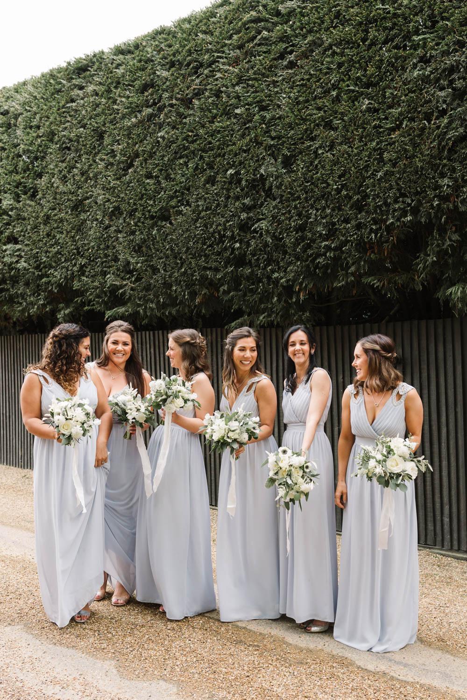 Bridesmaids Bridesmaid Dress Dresses Dove Grey Wedding Danielle Smith Photography