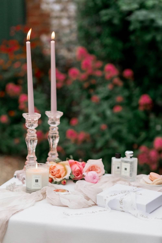 Bride Bridal Prep English Garden Wedding Inspiration Philippa Sian Photography