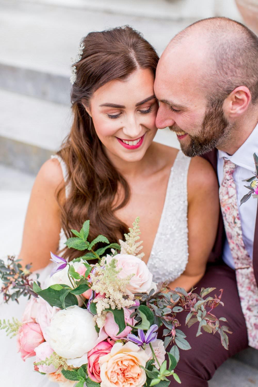 Bride Bridal Hair Make Up English Garden Wedding Inspiration Philippa Sian Photography