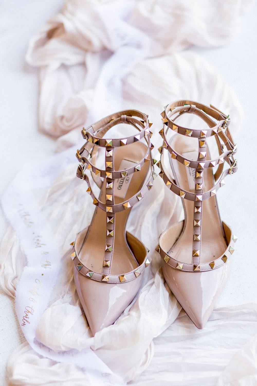 Designer Shoes Bride Bridal English Garden Wedding Inspiration Philippa Sian Photography