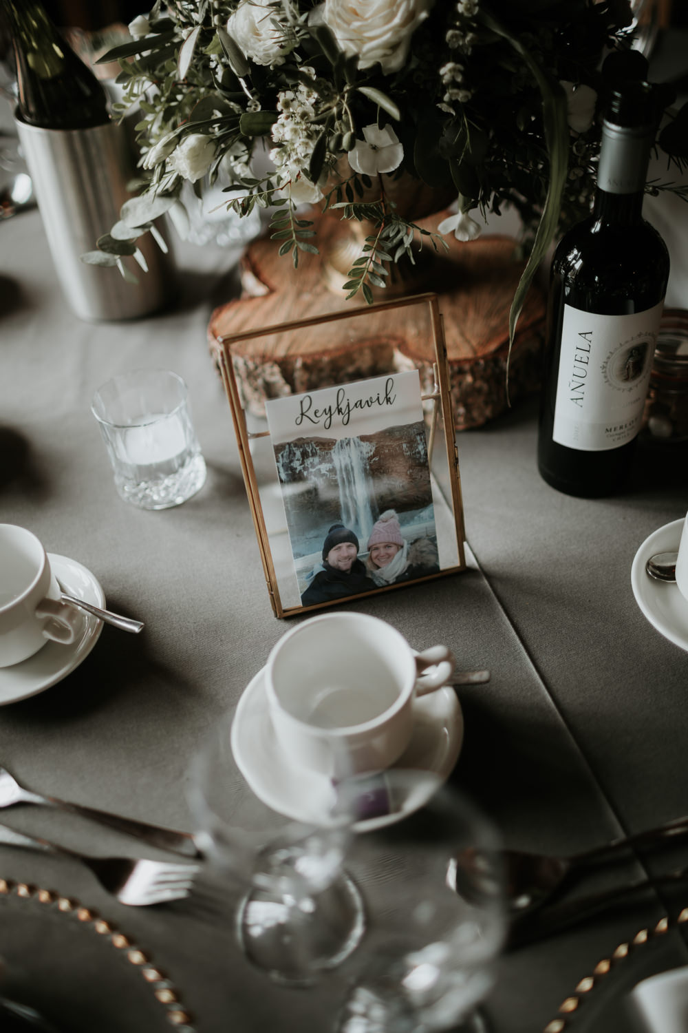 Table Name Place Ferry House Inn Wedding Paul Fuller Kent Photography