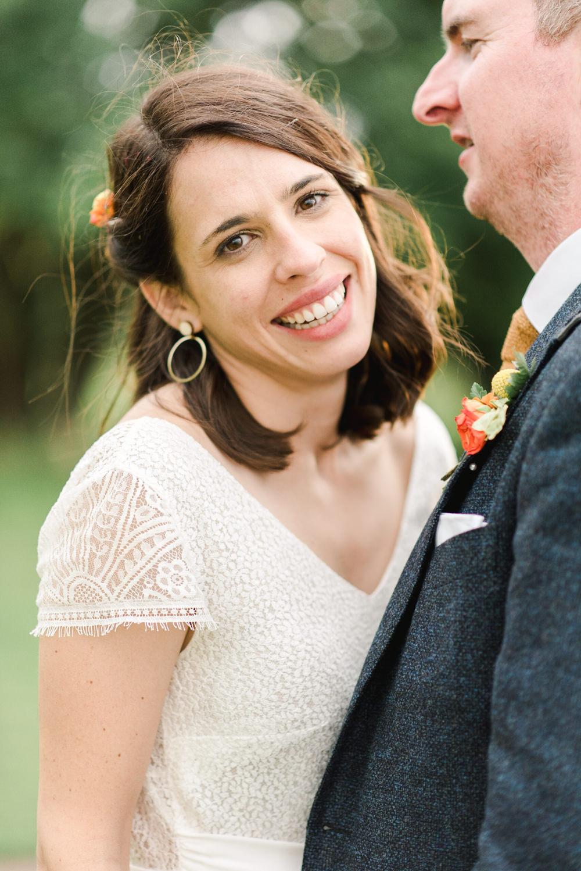 Bride Bridal Hair Make Up Waves Style Earrings Perch Inn Wedding Captured By Katrina