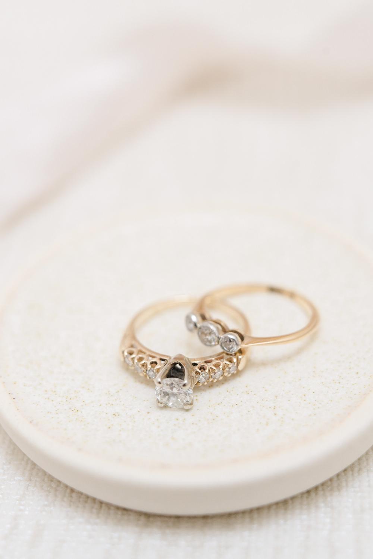 Engagement Ring Band Yellow Gold Diamond Perch Inn Wedding Captured By Katrina