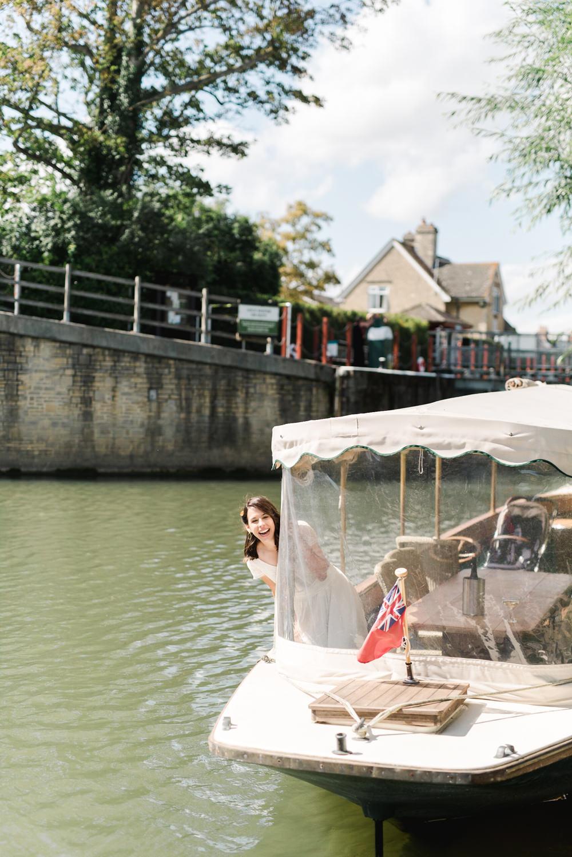 Boat Transport Perch Inn Wedding Captured By Katrina