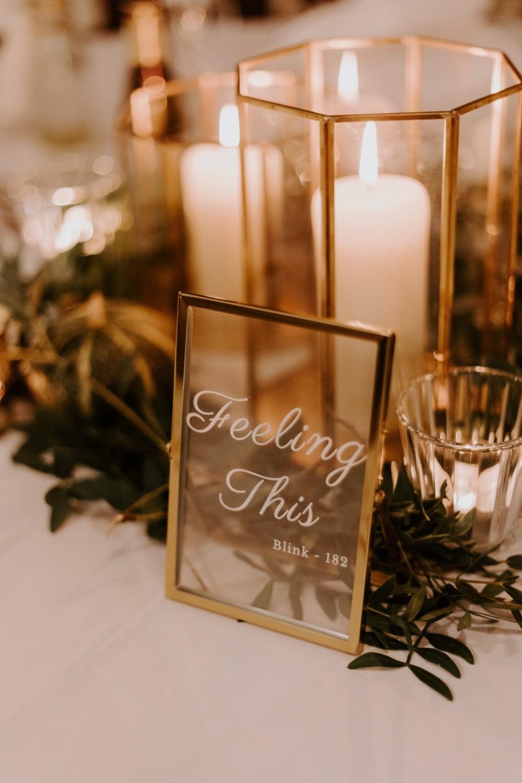 Table Name Frame Glass Clear Wick Farm Bath Wedding Siobhan Beales Photography