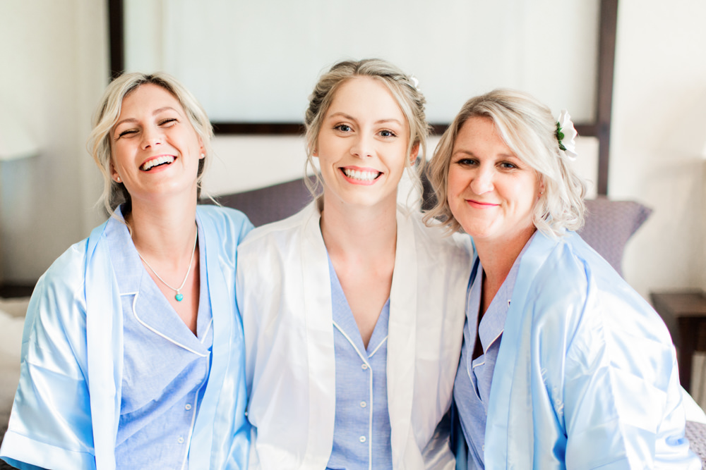 Bride Bridal Dressing Gown Robes Almonry Barn Wedding Kerry Bartlett Photography