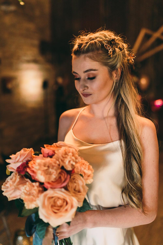 Bride Bridal Make Up Balloon Wedding Ideas Leesha Williams Photography