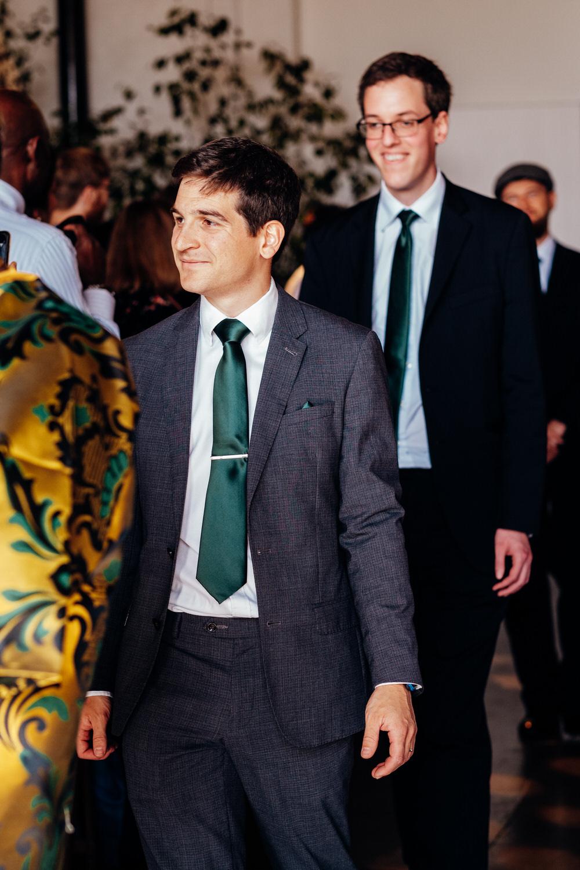 Groomsmen Green Tie Pocket Square Chainstore Wedding Marianne Chua Photography
