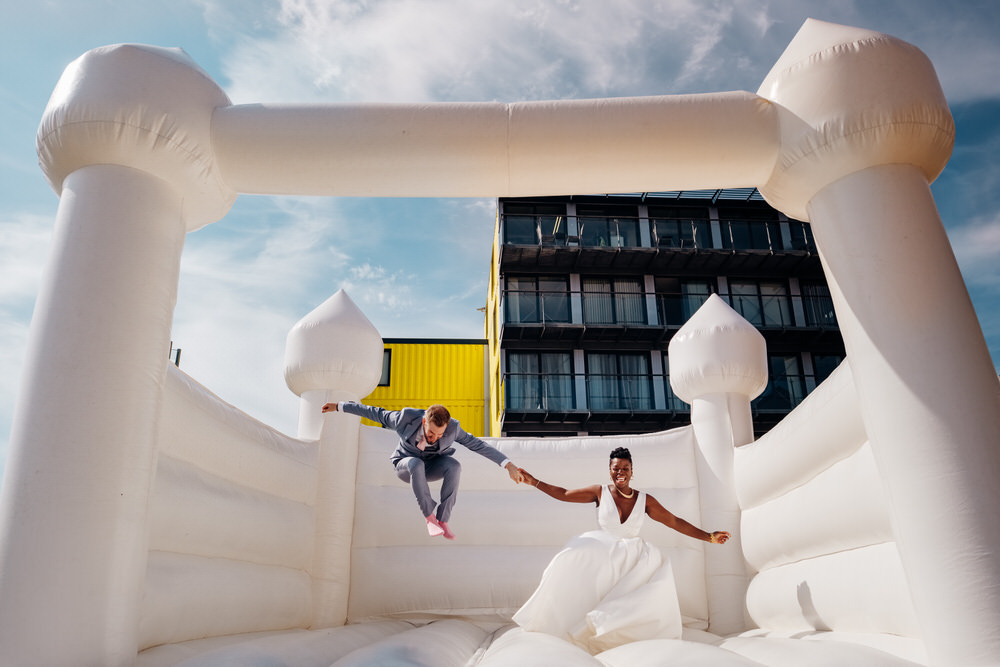 Bouncy Castle Chainstore Wedding Marianne Chua Photography