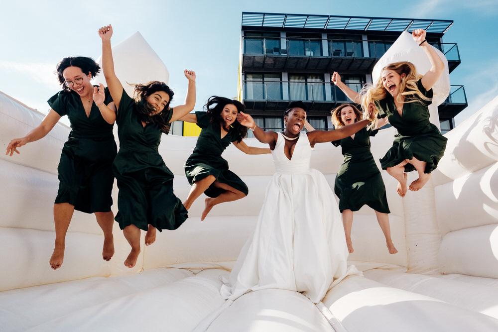 Bridesmaids Bridesmaid Green Dress Dresses Chainstore Wedding Marianne Chua Photography