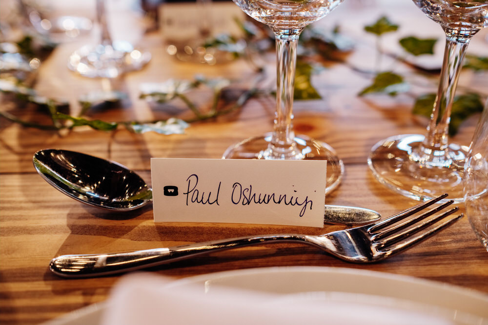 Place Name Cards Chainstore Wedding Marianne Chua Photography