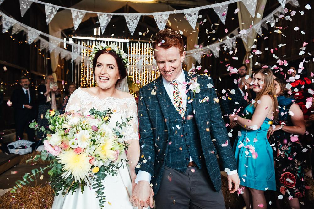 Confetti DIY Barn Wedding Jessica Grace Photography