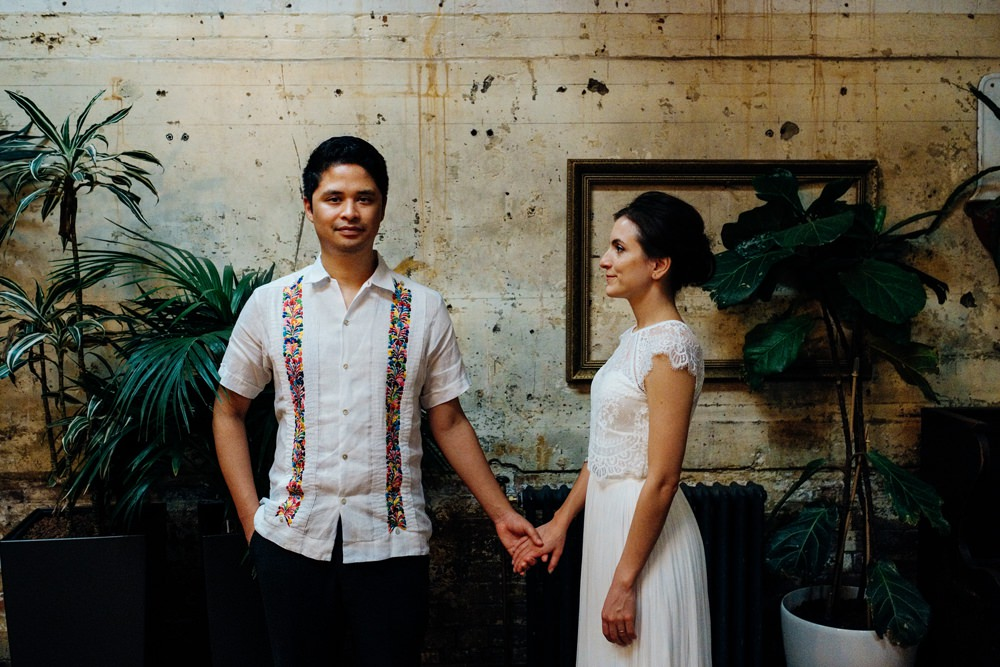 Groom Guayabera Outfit Attire East London Wedding Marianne Chua Photography